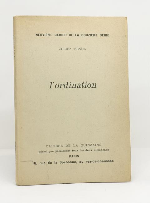 L'Ordination