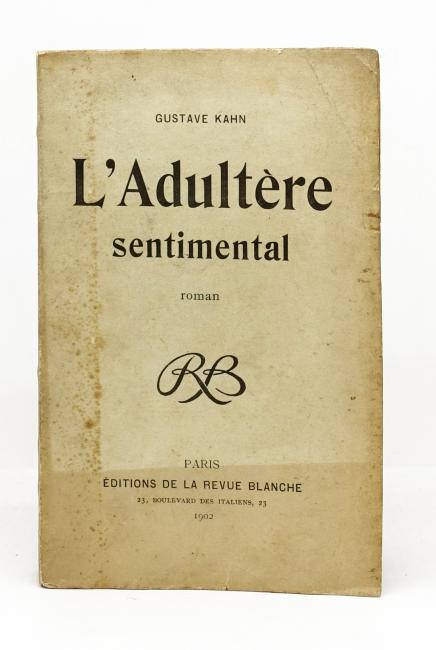 L'Adultère sentimental. Roman
